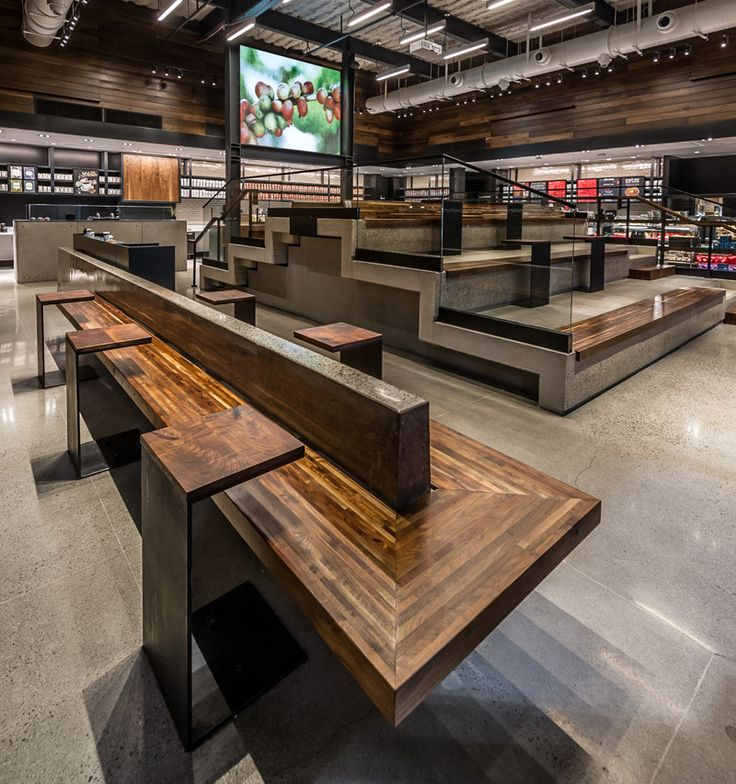 Starbucks Has Opened A New Location With Stadium Style Seating | CONTEMPORIST