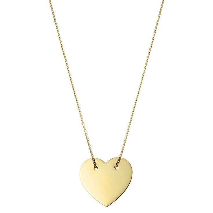 Lant din aur cu inimioara cod l 29