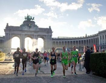 start Brussels marathon (2011 - 3:38u)