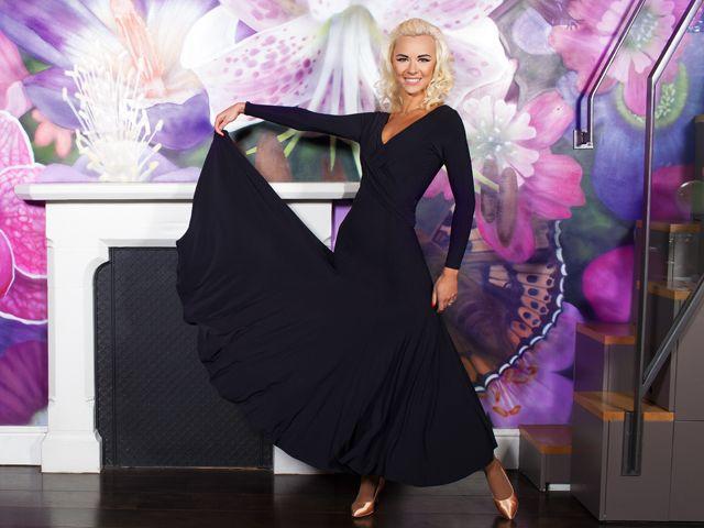 Crossover Ballroom Dress