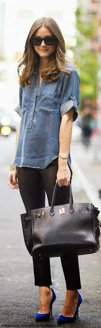 Fashion Icon: Olivia Palermo Street Style New York (love the simplicity)