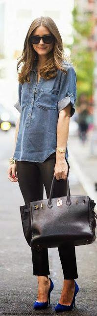 Fashion Icon: Olivia Palermo Street Style New York (love the simplicity)