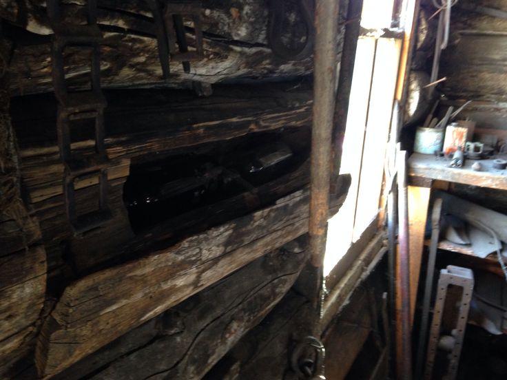 Hidden Moonshine spot, blacksmith Sexsmith AB