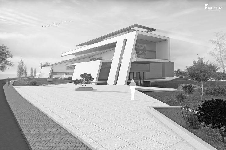 17 best images about moderne b rogeb ude on pinterest ingolstadt architecture and modern - Flow architektur ...