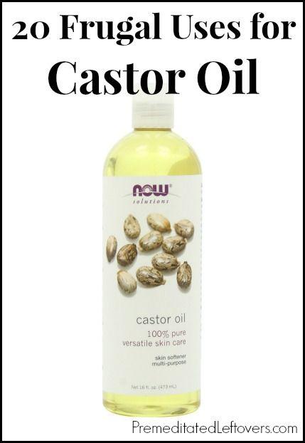 20 frugal uses for castor oil