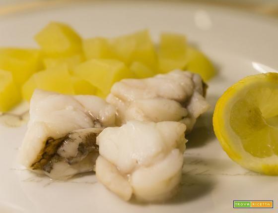 Coda di rospo a vapore  #ricette #food #recipes
