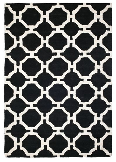 The Porter Rug - Black from Urban Barn is a unique home décor item. Urban Barn carries a variety of Rugs and other  products furnishings. #sarahrichardson