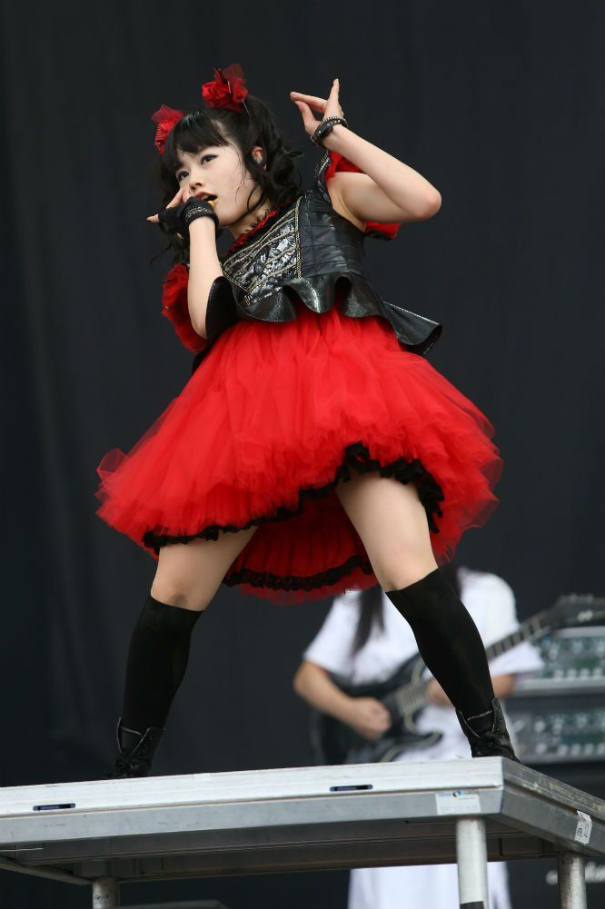 18 incredible photos of Babymetal at Reading Festival   Gigwise