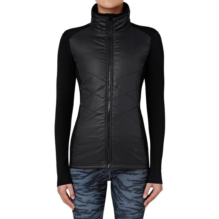 Shop now: Merino Puffer Jacket. #seedheritage #seedsport #sport #woman
