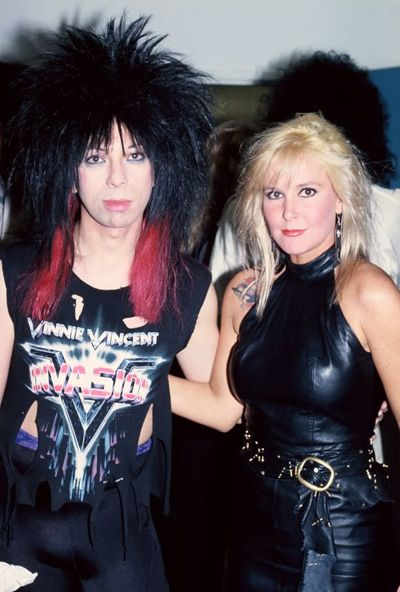 Baby Vinnie Vincent And Lita Ford Like A Runaway Lita
