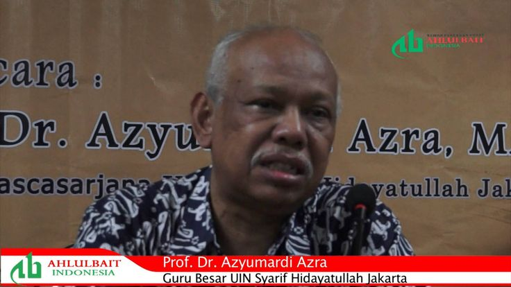 Prof. Dr. Azyumardi Azra: Al-Qur'an Sunni dan Syiah Tidak Berbeda https://www.youtube.com/watch?v=-sJlRjp9lbo