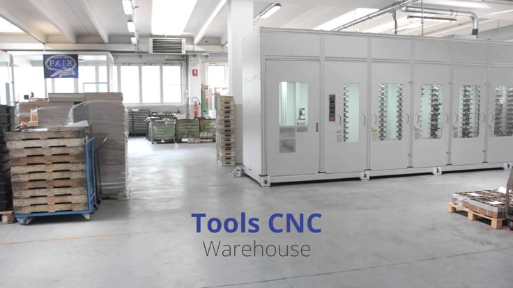 Magazzino utensili CNC | Tools CNC warehouse