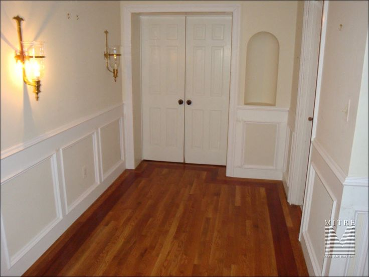 Wainscoting Pictures Flat Wall Paneled Wainscoting