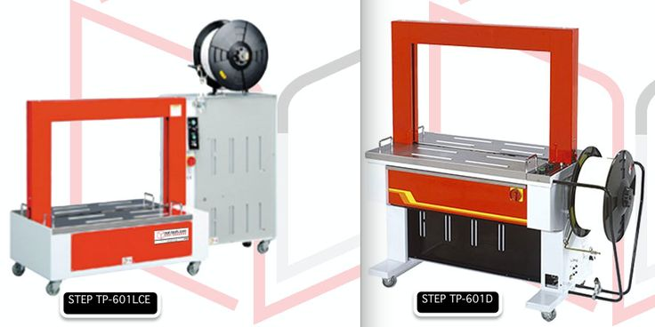 STEP TP-601D and STEP TP-601LCE are equipped with powerful motors and a durable strapping head that is engineered topping excellent quality of machine. #PPStrappingMachine #AutomaticStrappingMachine #SalTechEasyPackaging