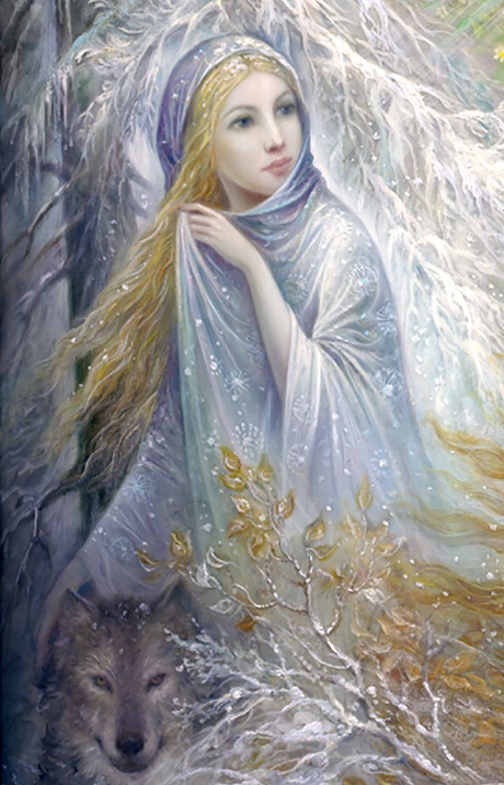 """Seasons (zoom 1 - Winter)"" par Nadia Strelkina"