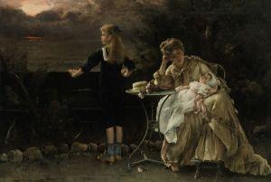 Mother and Children - Alfred Émile Léopold Stevens - The Athenaeum