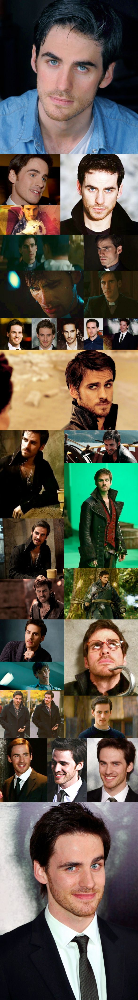 Colin O'Donoghue *melts* He's one of the only guys I've ever seen look good pulling off the guy-liner