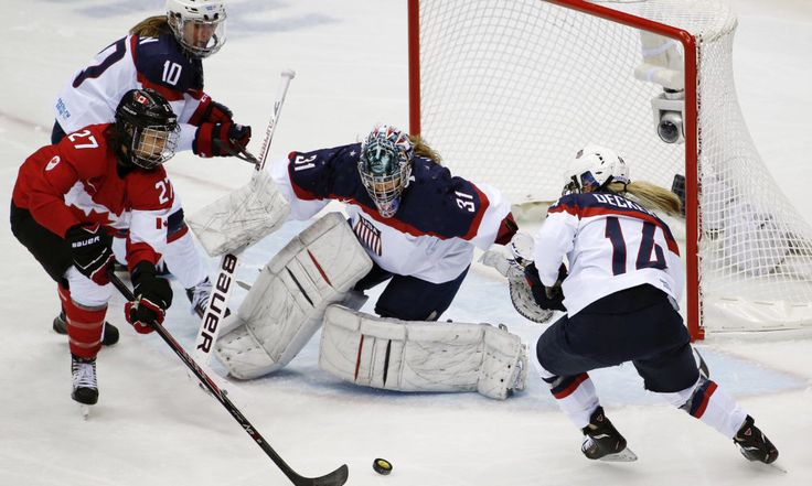 USA Hockey reaches deal with U.S. women's national hockey = The two-week escapade between USA Hockey and the U.S. women's national team has finally come to an abrupt halt. On Tuesday evening, the two parties came to a deal that would give the women's team a new contract, allowing it to play in the upcoming World Championships. USA Hockey and members of the women's national team were…..