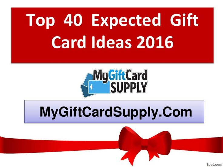 Check out the best 40 gift cards ideas for 2016. If you want to gift    any card, you can check these gift cards. Hope these gift cards will help you to choose the best.