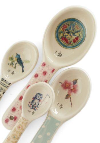 Piquant Resist Measuring Spoon Set, #ModCloth