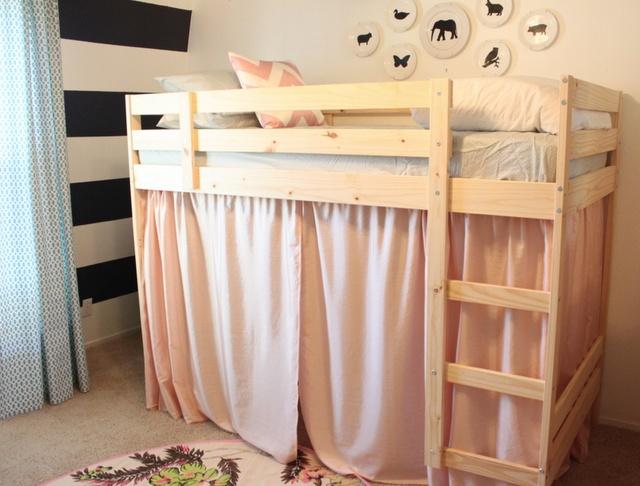 Repurpose college loft bed for London...