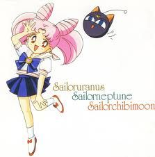 Chibiusa (8) Happy Kind loves to play Smart friends with Hotaru