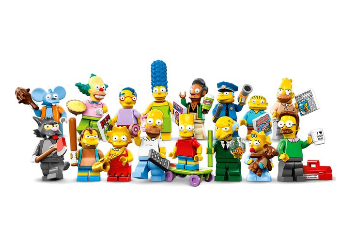 Image of LEGO 'The Simpsons' Minifigure Collection