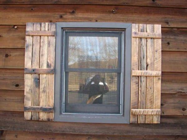 Cedar Shutters Exterior Wood