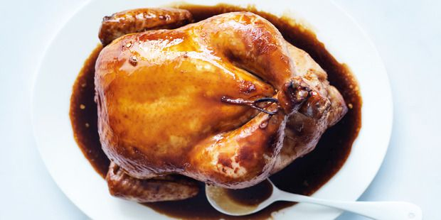 Ginger and soy roast chicken | Marvellous Meat, Poultry and Sea Food ...