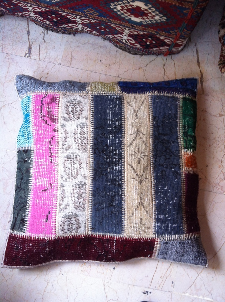 Pillow Multi color Patchwork