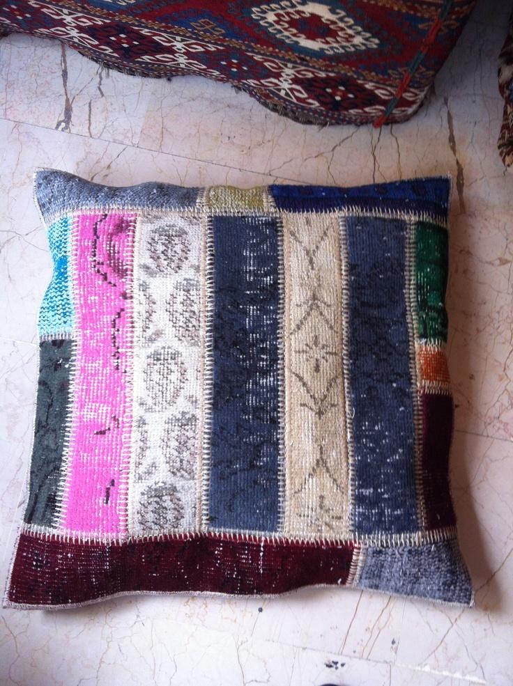 Pillow Multi color Patchwork