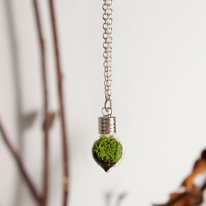 Heart Necklace Silver now featured on Fab.