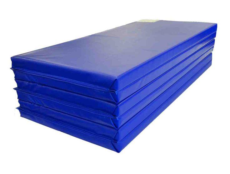Blue Gymnastics Mats