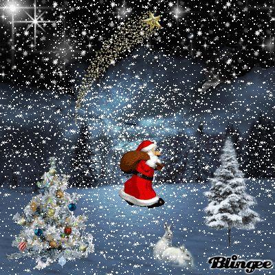 Christmas blingee