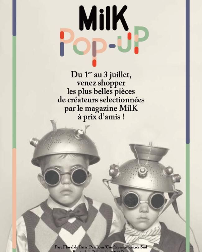 MilK installe son pop-up store au Playtime | MilK