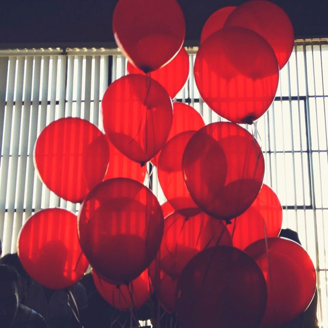 love red balloons