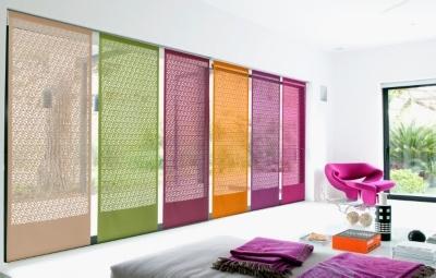 Les panneaux japonais Vice Versa peuvent aussi bien être utilisés en déco que pour séparer des pièces... 6 couleurs pour un effet résolument moderne!