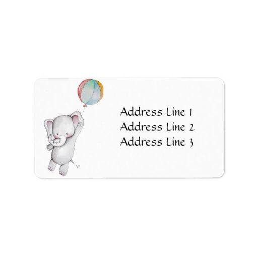 Best Baby Shower Address Labels Images On   Address