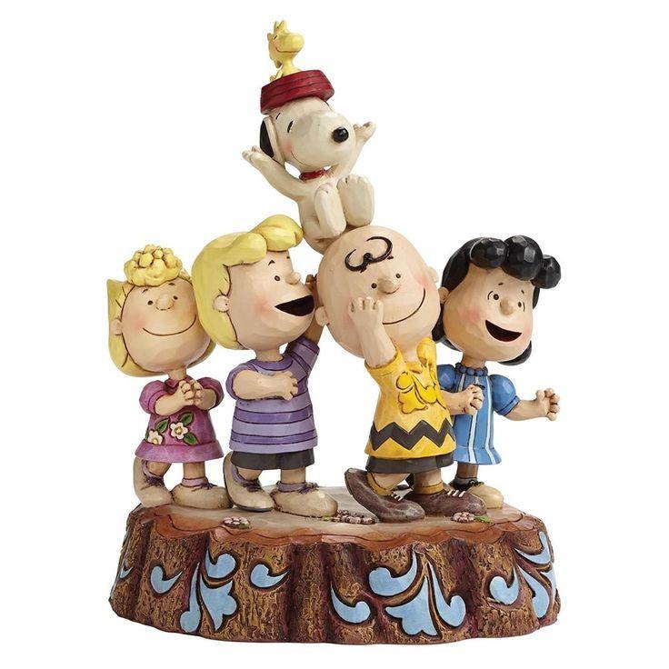 Jim Shore Hooray - 65th Anniversary Figurine (Peanuts Collection)
