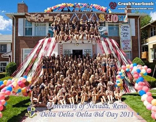 Bid day ideas if y'all are ever in need of something outside of the beach/nautical theme