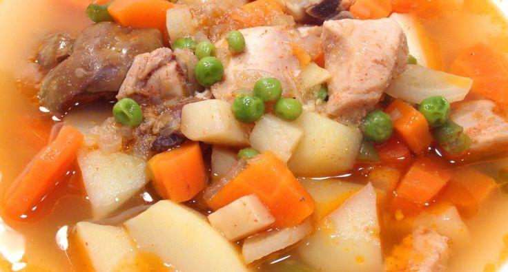 Falusi csirke raguleves recept | APRÓSÉF.HU - receptek képekkel