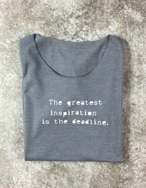 t-shirt (deadline)