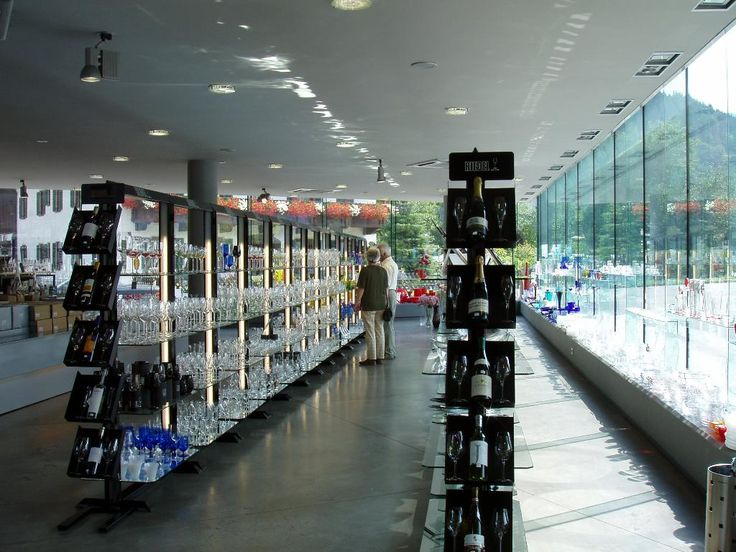 **Riedel Glas (tours, retail and outlet store) - Kufstein, Austria