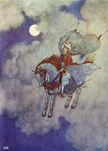 The+Arabian+Nights:+Daylight+Faded+from+View+-+Эдмунд+Дюлак+