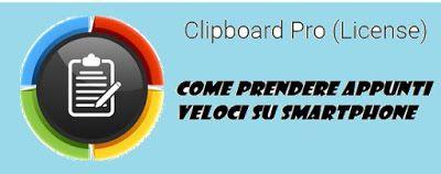 UNIVERSO NOKIA: Come prendere appunti veloci su smartphone: Clipbo...
