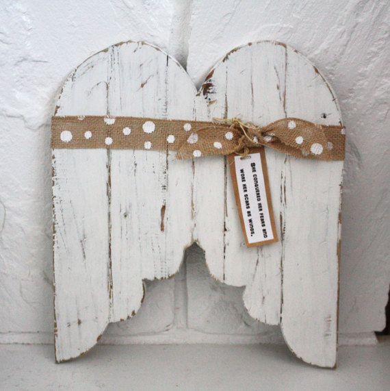 Brave Wings Handcrafted and painted with Sweet Pickins Milk Paint