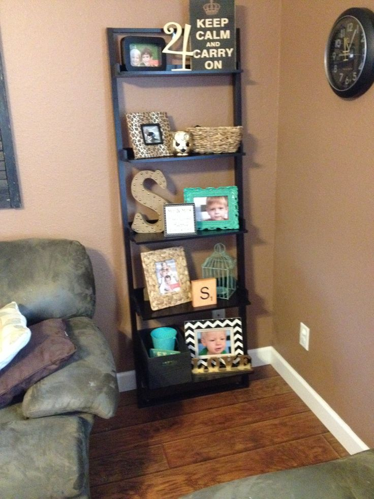 shelf decor on pinterest ladder bookcase black ladder shelf and