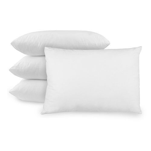 Bed Pillow Comfortable Relaxing All Natural Ultra Fresh Soft Hypoallergenic 4pcs #BedPillow