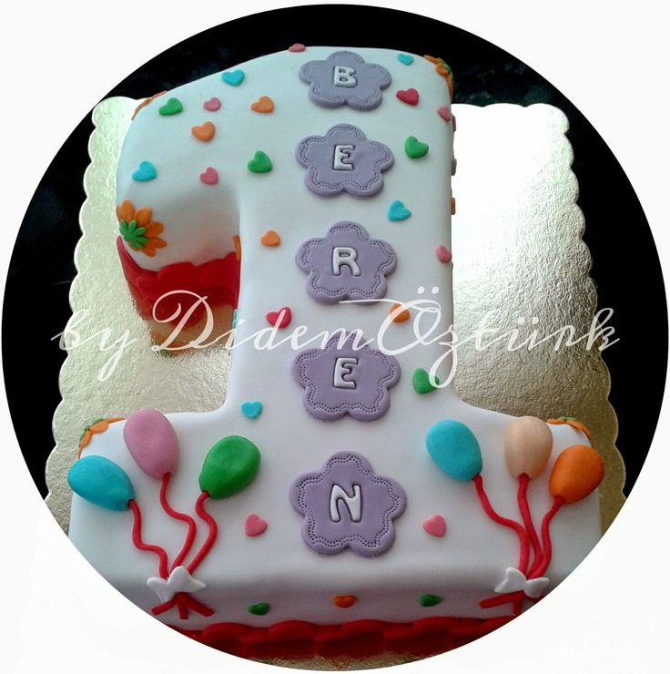 Butik Pasta,Butik Kurabiye,Pasta Tasarım,Doğum günü pastası,Kadıköy butik pasta ,çocuk pastaları: 1 YAŞ DOĞUM GÜNÜ PASTASI (Kadıköy Butik Pasta ve K...