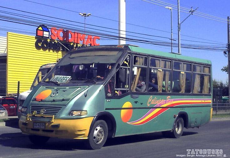 https://flic.kr/p/Dw13TN | ← Buses Calinpar Bus ©→ | Metalpar Pucara 2000 - M.Benz - Ruta Parral - Longavi - Linares - imagen Sergio Arteaga 2017 - Linares   (TATOBUSES)